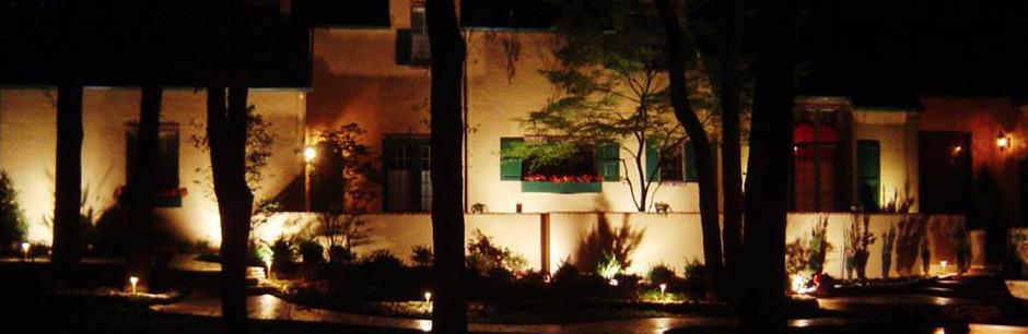 landscape lighting installation tulsa bixby jenks ok