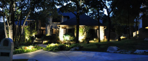 landscape lighting consultation in tulsa, ok